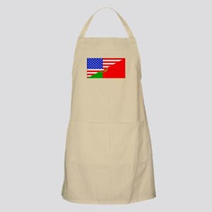 Portuguese American Flag Apron