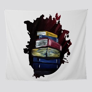 Books Of Knowledge Wall Tapestry