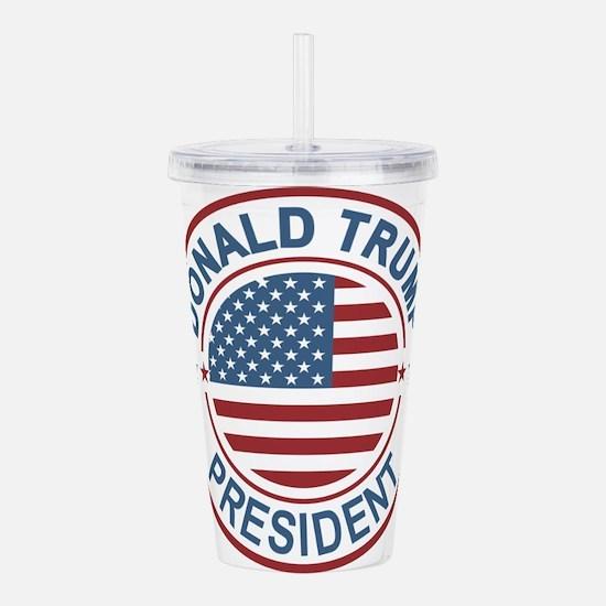 WOW! Trump President Acrylic Double-wall Tumbler