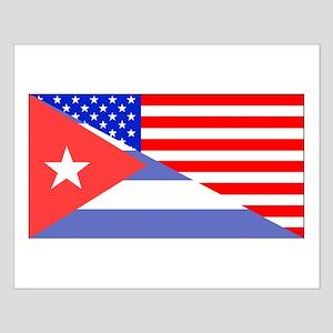 Cuban American Flag Posters
