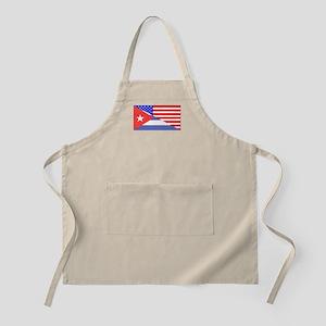 Cuban American Flag Apron