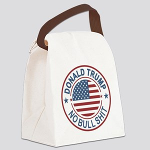 Trump No BS Canvas Lunch Bag