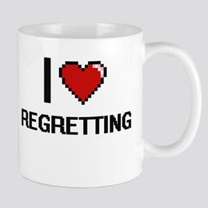 I Love Regretting Digital Design Mugs