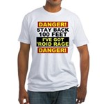 'Roid Rage Fitted T-Shirt