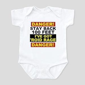 'Roid Rage Infant Bodysuit