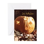 Playing-Card Pumpkin - Halloween Cards (Pk of 20)
