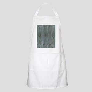 nautical teal beach drift wood  Apron