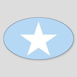 Square Somalian or Somali Flag Sticker
