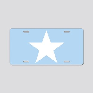 Square Somalian or Somali F Aluminum License Plate