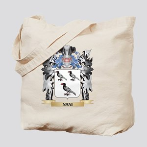 Nani Coat of Arms - Family Crest Tote Bag