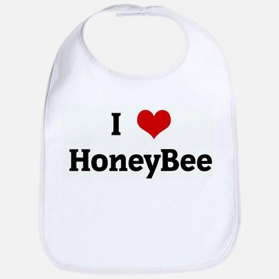 I Love HoneyBee Bib