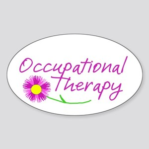 Occupational Therapy Hand Flower Sticker