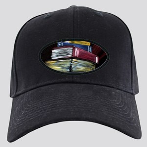 Books Of Knowledge Black Cap with Patch