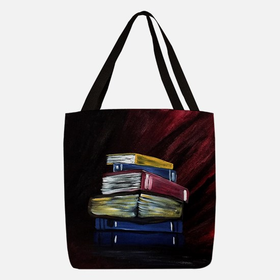 Books Of Knowledge Polyester Tote Bag