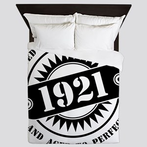 LIMITED EDITION MADE IN 1921 Queen Duvet