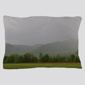 Lightning at Cades Cove Pillow Case