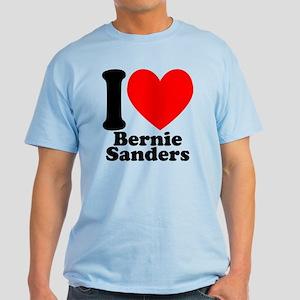 I Heart Bernie Sanders Light T-Shirt