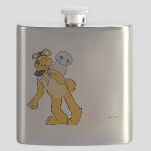 Golden freddy Flask