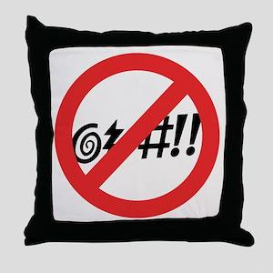 Virginia @#!! Throw Pillow