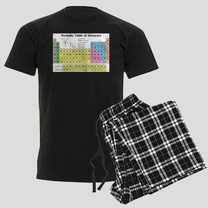 periodictable banner Men's Dark Pajamas