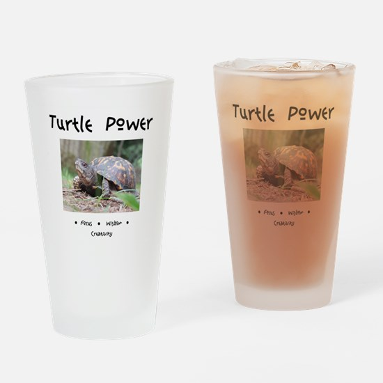 Turtle Totem Gifts Drinking Glass