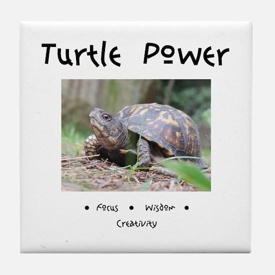 Turtle Totem Gifts Tile Coaster