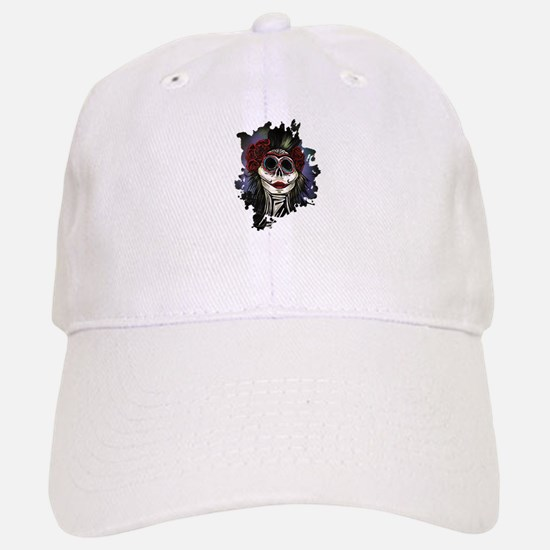 Night Of The Dead Baseball Baseball Cap