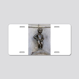 Manneken Pis Belgium Aluminum License Plate