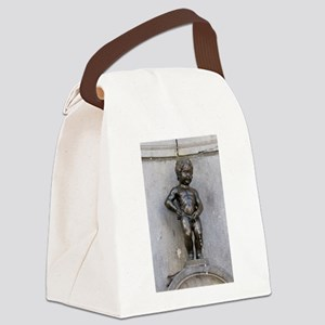 Manneken Pis Belgium Canvas Lunch Bag