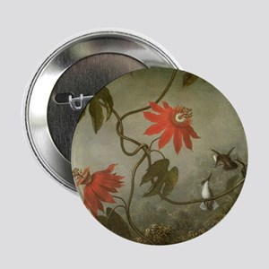 "Passion Flowers and Humming 2.25"" Button (10 pack)"