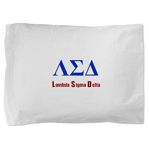 Lambda Sigma Delta Pillow Sham