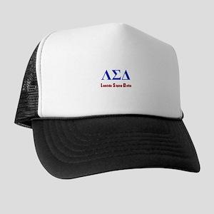 Lambda Sigma Delta Trucker Hat