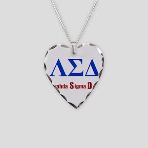 Lambda Sigma Delta Necklace