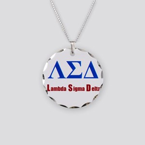 Lambda Sigma Delta Necklace