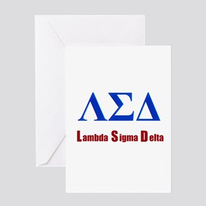 Lambda Sigma Delta Greeting Cards