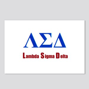 Lambda Sigma Delta Postcards (Package of 8)