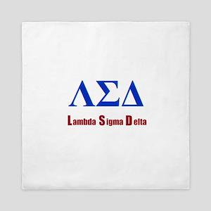 Lambda Sigma Delta Queen Duvet
