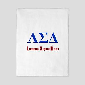 Lambda Sigma Delta Twin Duvet