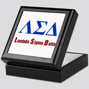 Lambda Sigma Delta Keepsake Box