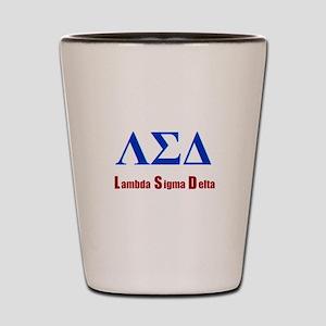 Lambda Sigma Delta Shot Glass
