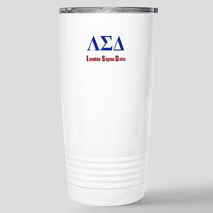 Lambda Sigma Delta Travel Mug