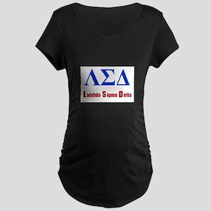 Lambda Sigma Delta Maternity T-Shirt