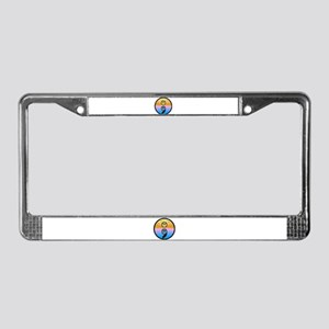 Semicolon Have Another Day License Plate Frame
