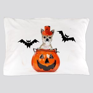Halloween Chihuahua dog Pillow Case