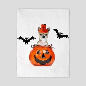 Halloween Chihuahua dog Twin Duvet