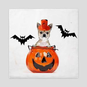 Halloween Chihuahua dog Queen Duvet