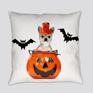 Halloween Chihuahua dog Everyday Pillow
