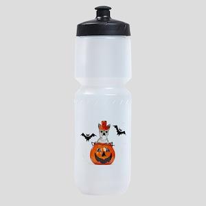 Halloween Chihuahua dog Sports Bottle