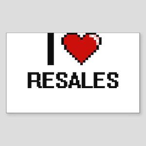 I Love Resales Digital Design Sticker