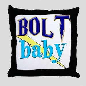 BOLT baby (boy) Throw Pillow